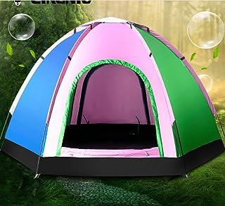 Tente multijoueur 5-6 Tente extérieure Tente de Plage Protection UV Tente de Pique-Nique de Loisirs ZXCV