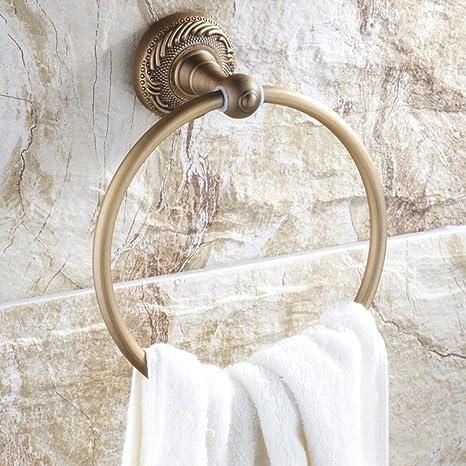 Todo el anillo de toalla clásica / cobre antiguo / euro / hacer el viejo tratamiento