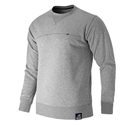 399d67b2f3abc Amazon.com: New Balance Men's Essentials Plus Crew Neck Sweatshirt ...