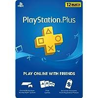 PlayStation Plus 12 Month Membership Digital Code