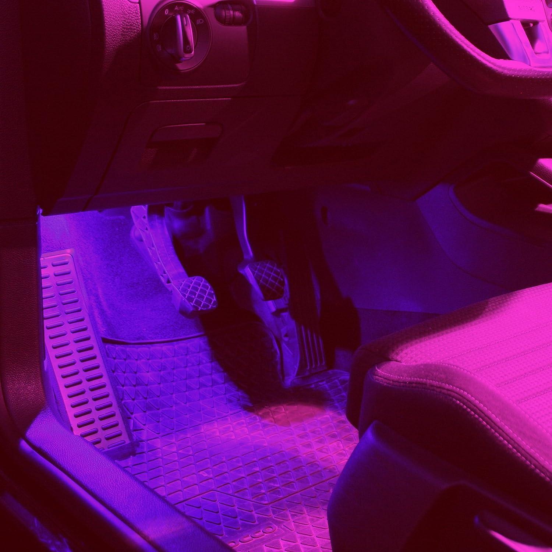 2X SMD LED FUßRAUMBELEUCHTUNG MODULE DIMMBAR Seat Ibiza V 6J5 6P1 6P5 BLAU