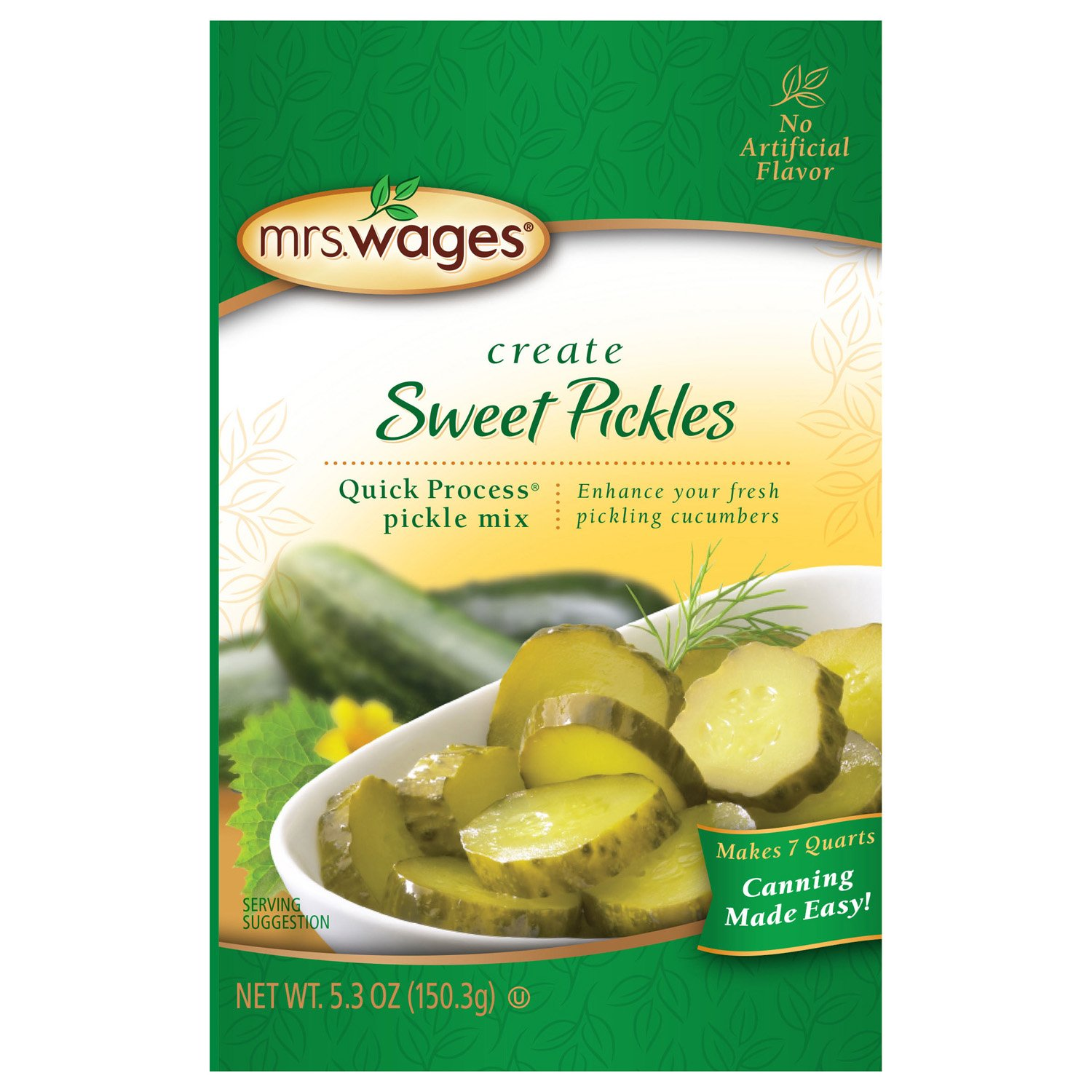 Mrs Wages Quick Process Sweet Pickle Mix