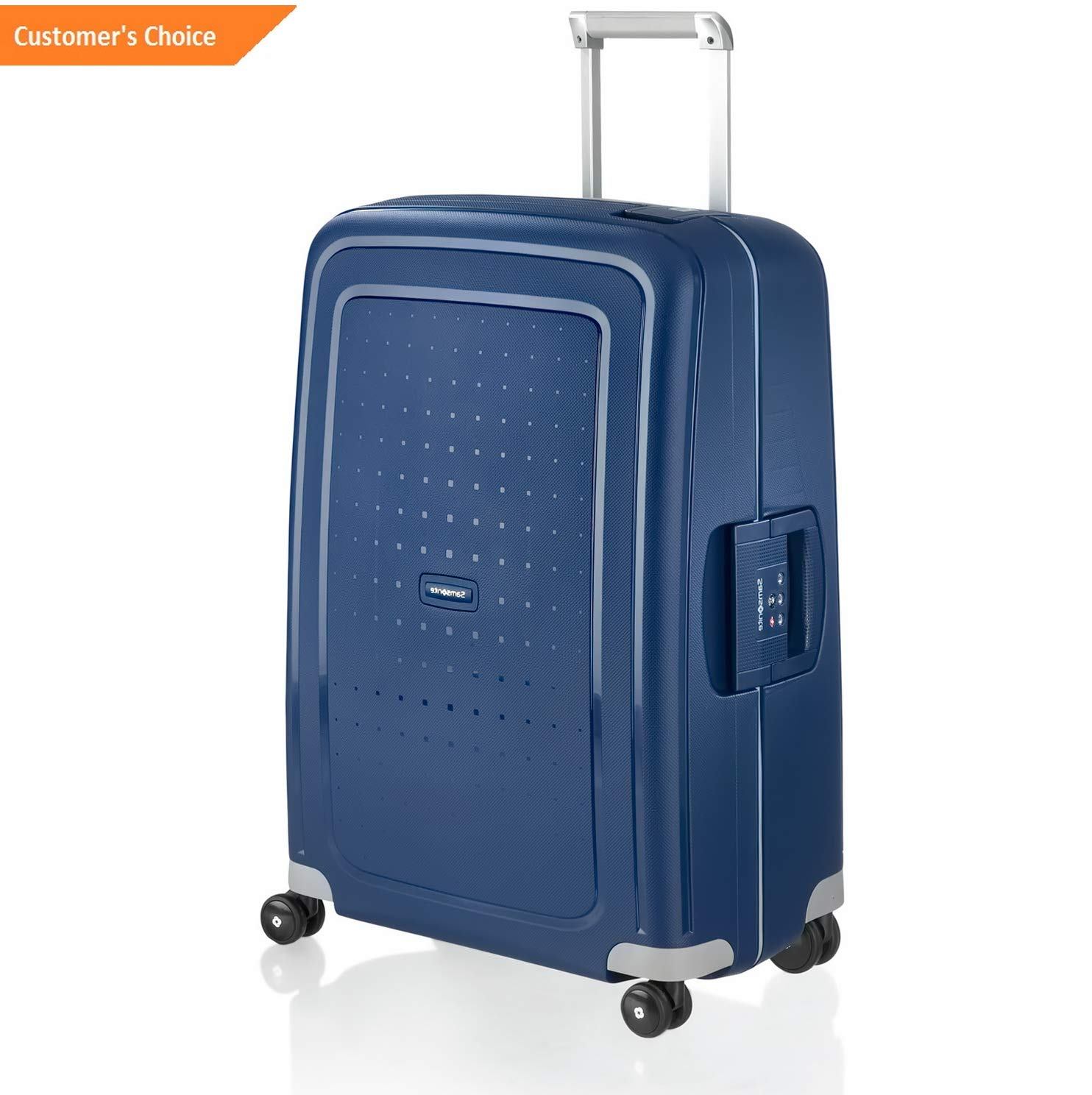 Amazon.com | Sandover Samsonite SCure 28 Inch Spinner Suitcase Zipperless Hard Shell gage | Model LGGG - 11835 | | Luggage