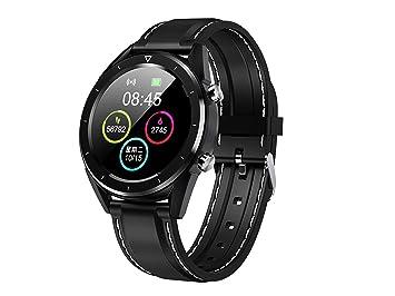 DT28 Smart Watch - Medidor de frecuencia cardíaca (Bluetooth, con función de Pago, para iOS, Android, iPhone)