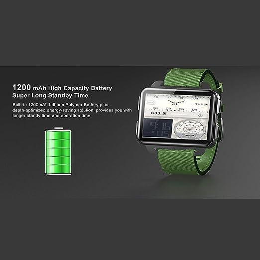 OJBDK Reloj Inteligente DM99 actualizar DM98 LEM4 Pro ...