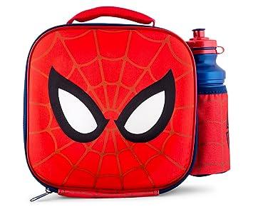 Marvel Ultimate Spiderman Backpack Insulated Lunch Bag Shoulder Bag Pen Case Lot