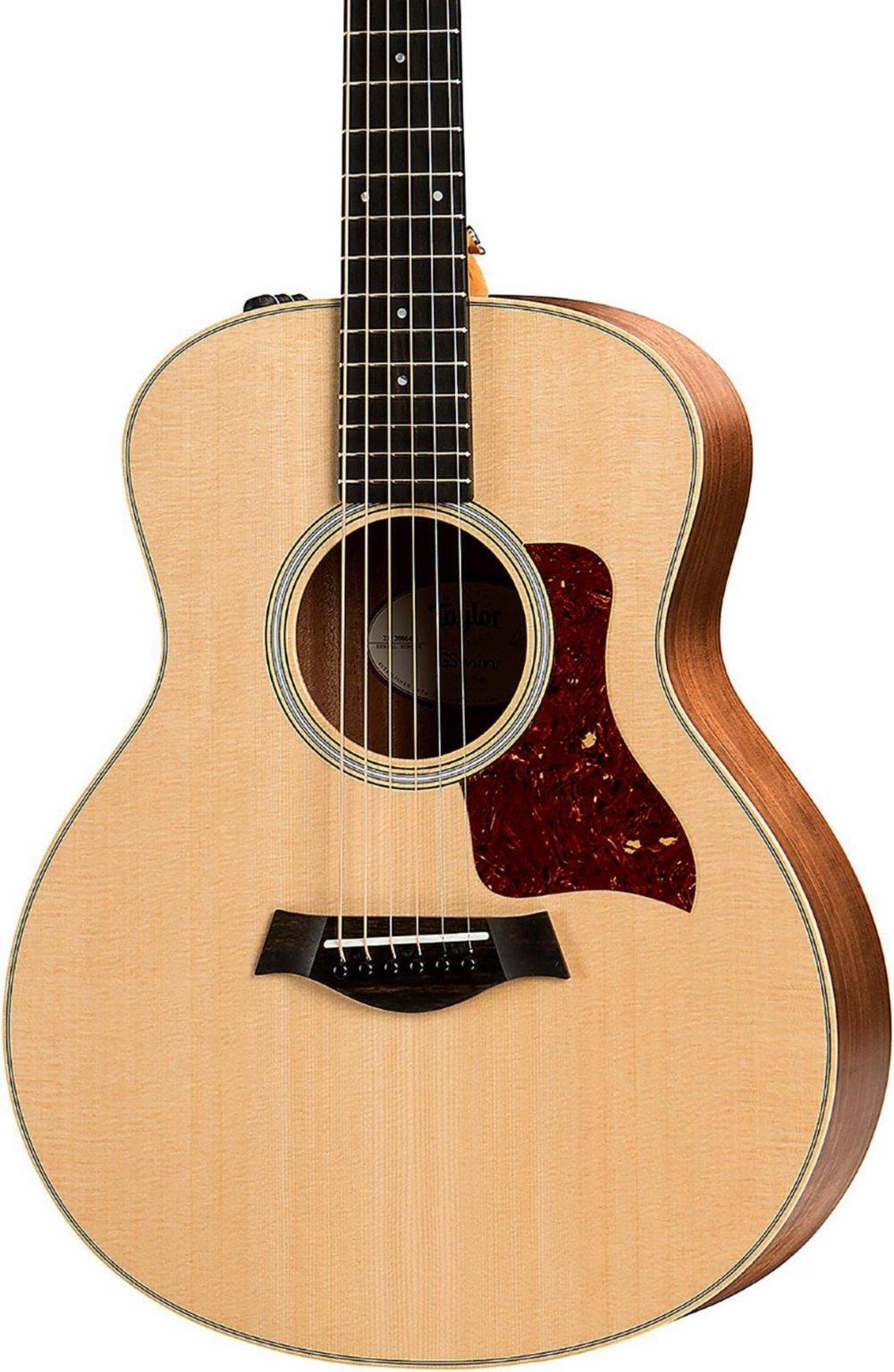 Taylor GS Mini-e Walnut Acoustic/Electric Guitar Natural