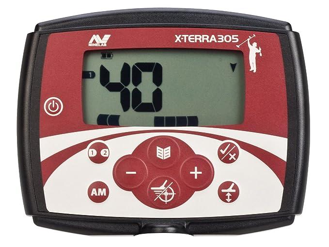 MINELAB X-TERRA 305 - Detector universal de metales: Amazon.es: Bricolaje y herramientas