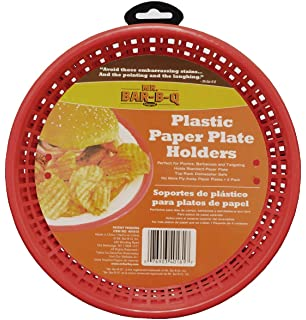 Excellent Amazon.com | Miles Kimball Plastic Paper Plate Holders - Set Of 8  LR06