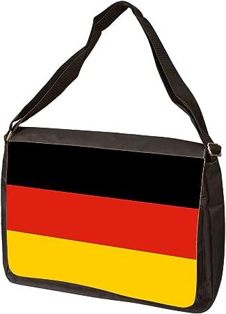 Germany Flag Eagle Laptop Bag Messenger Bag Briefcase Satchel Shoulder Crossbody Sling Working Bag 13 Inch