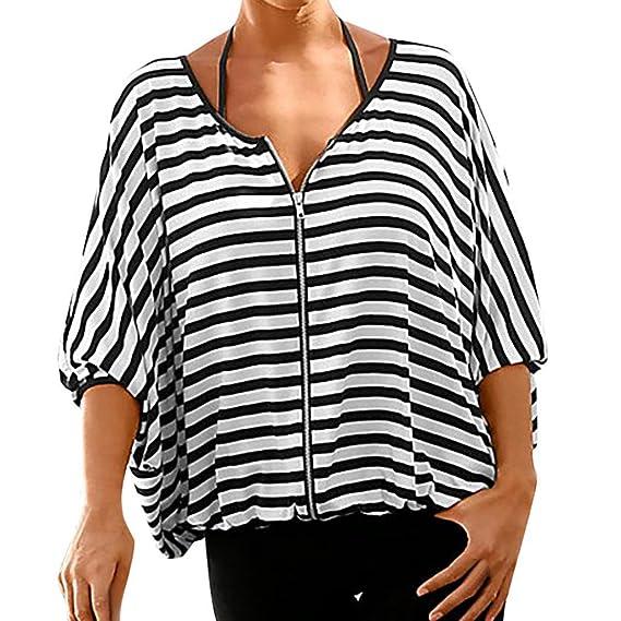 Damen Schulterfrei Bluse 34 Arm Longbluse Tops T Shirt