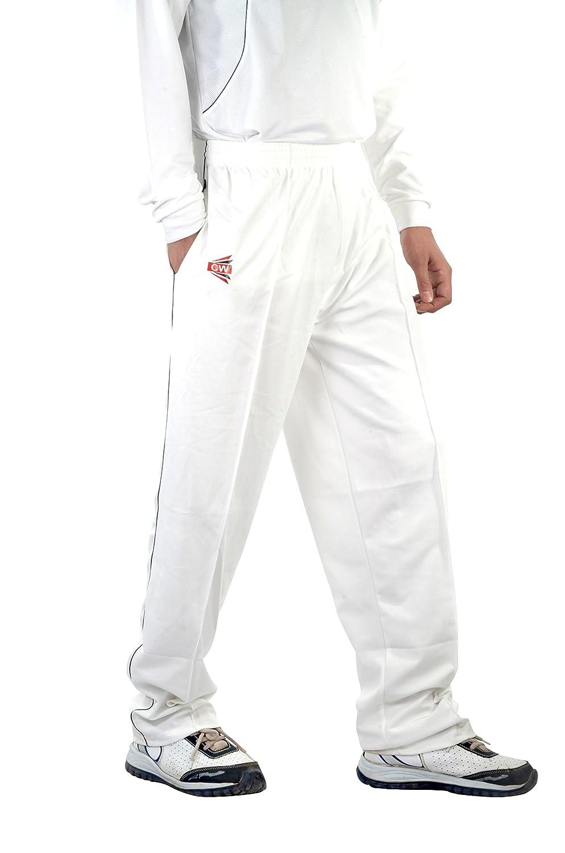 5970f7968bf Amazon.com   C W Men Boys Youth Matrix Dryfit Dress Sports Wear T-Shirt  White Half Sleeves with Trouser Pant Full Uniform   Sports   Outdoors