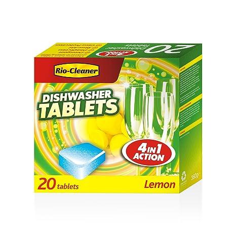 Pastillas de detergente para lavavajillas, Rio CleanerDishwasher ...