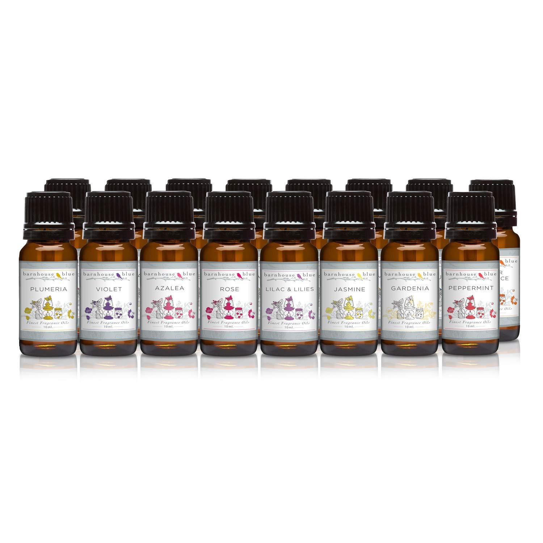 Wildflowers - Set of 16 Premium Fragrance Oils - Barnhouse Blue
