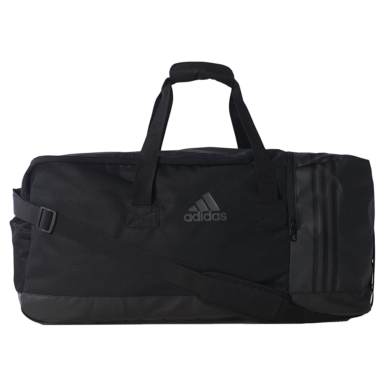 Adidas 3S Performance Borsa Sportiva Teambag L 70 Cm, Blacl Black/Vista Green AJ9990