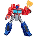 "Transformers - 5"" Optimus Prime Action Figure - Cyberverse Warrior Class Autobot - Kids Toys - Ages 6+"
