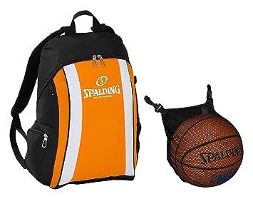 Spalding New Jersey Mochila con Red para balón de baloncesto ...