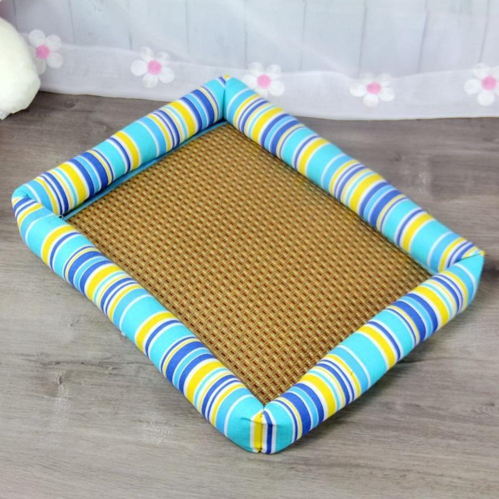 A 6555cm A 6555cm Aoligei Breathable Pet Nest Summer Mat Kennel Medium-Sized Small Dog Pet nest Perfect for Sunbathing mat, Nap&Sleeping Bed