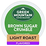 Green Mountain Coffee Roasters Brown Sugar Crumble, Single-Serve Keurig K-Cup Pods, Flavored Light Roast Coffee, 72 Count