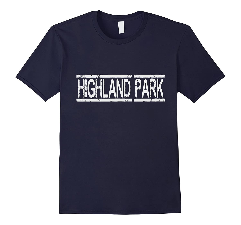 Highland Park Los Angeles LA California Souvenir T-shirt-T-Shirt
