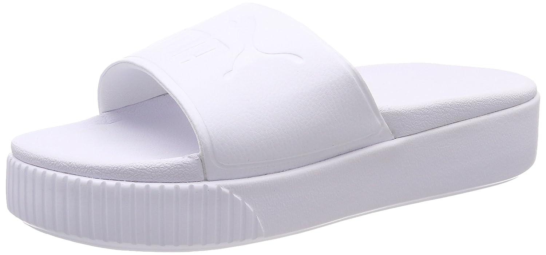 TALLA 42 EU. Puma Platform Slide Bold Wns, Zapatos de Playa y Piscina para Mujer