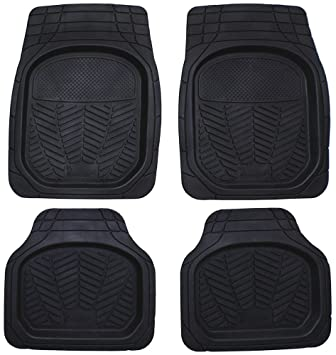 Michelin 92203 Car rubber mat set style 965 set of 4