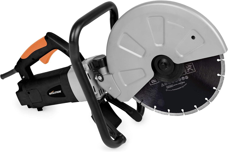 """Evolution DISCCUT1 12"""" Disc Cutter, Orange"""