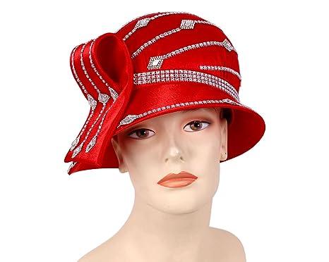 2389069cece Ms Divine Women s Satin Year Round Church Hats Dress Formal Hats  H873 ...