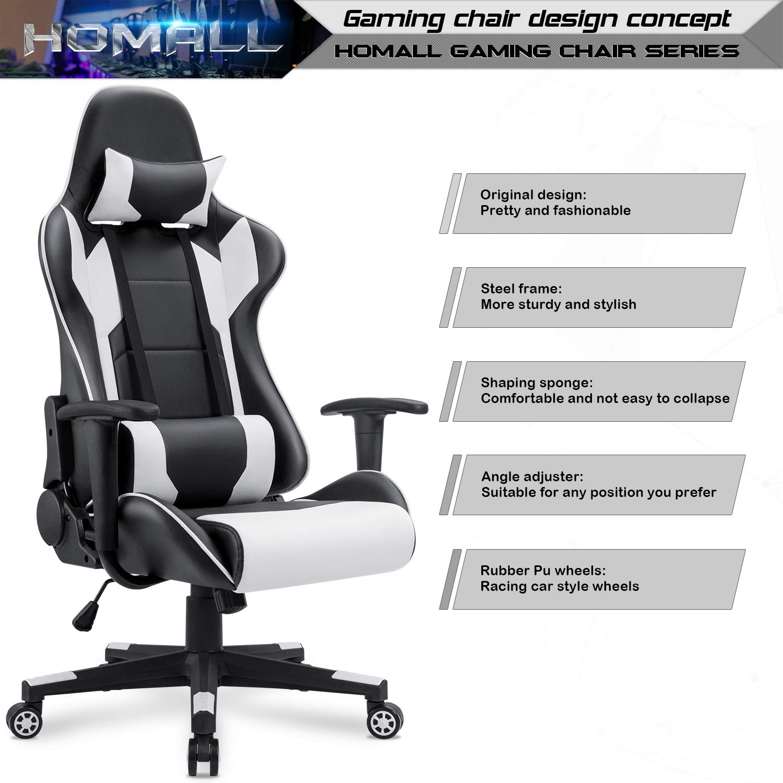 Stylish Race Car Office Chair Furnithom