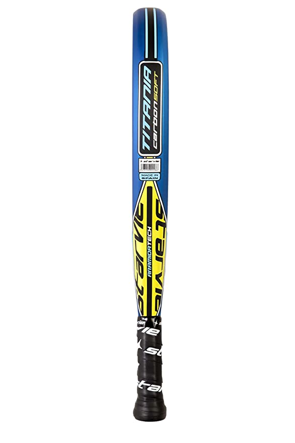 Amazon.com : Titania Carbon SOFT - NEW 2018 - Professional Padel and Pop Tennis Paddle Racquet : Sports & Outdoors