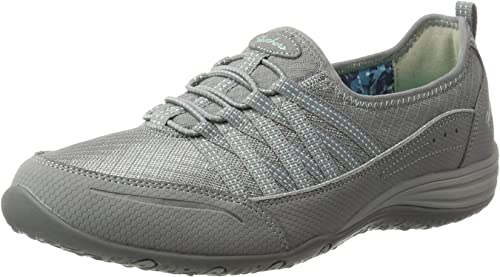 Details about Skechers UNITY GO BIG Ladies Womens Slip On Comfy Wear Sports Trainer Shoes Grey