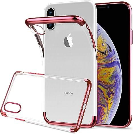 Apple Cover Custodia per iPhone Xs Max Materiale Silicone colore