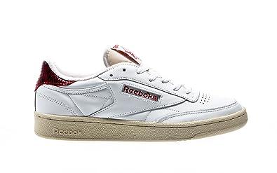 letzte Auswahl bester Preis viel rabatt genießen Reebok Club C 85 Herren Sneaker Weiß: Amazon.de: Schuhe ...
