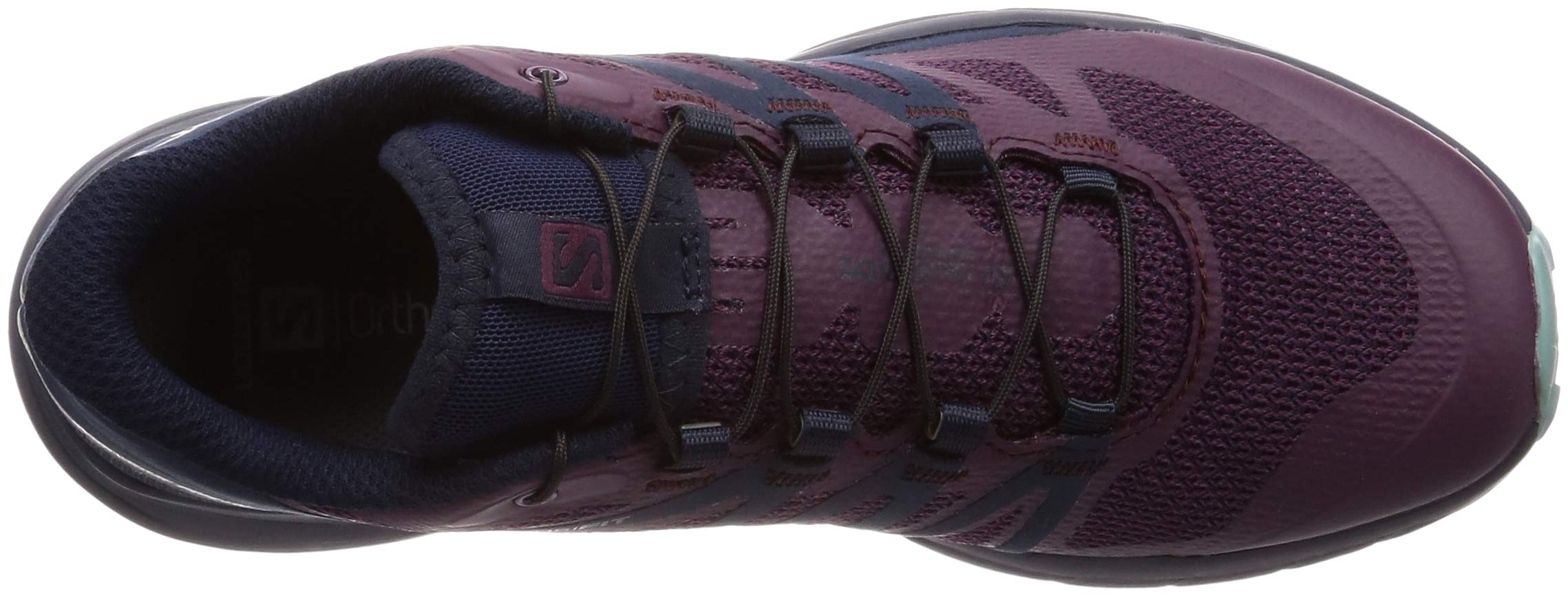 Salomon Sense Ride Running Shoe - Women's Potent Purple/Graphite/Navy Blazer 6 by Salomon (Image #7)