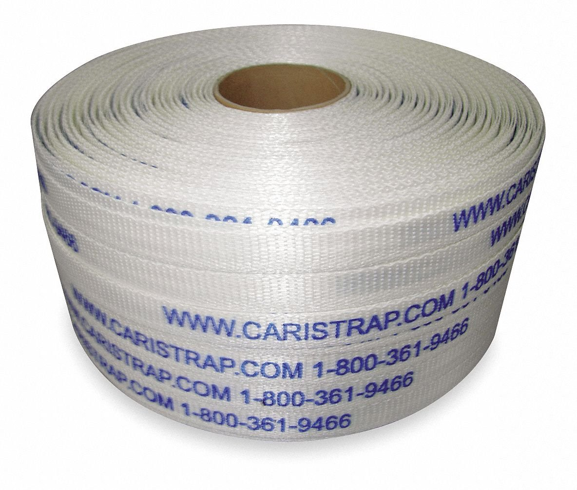 Strapping, Polyester, 1312 ft. L, PK2