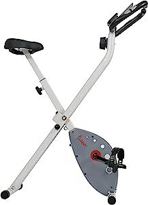 Sunny Health & Fitness Magnetic Foldable Exercise Bike - SF-B2989