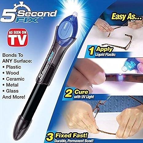 Nueva luz UV pegamento Pen, Líquido Plástico Soldador Fix/llenar/Junta/ reparación