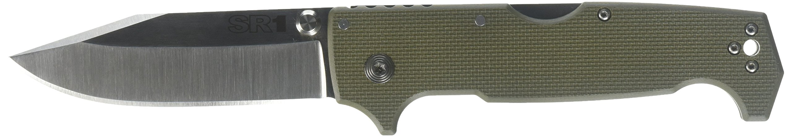 Cold Steel SR1 Knife, OD Green, 4-1/2''