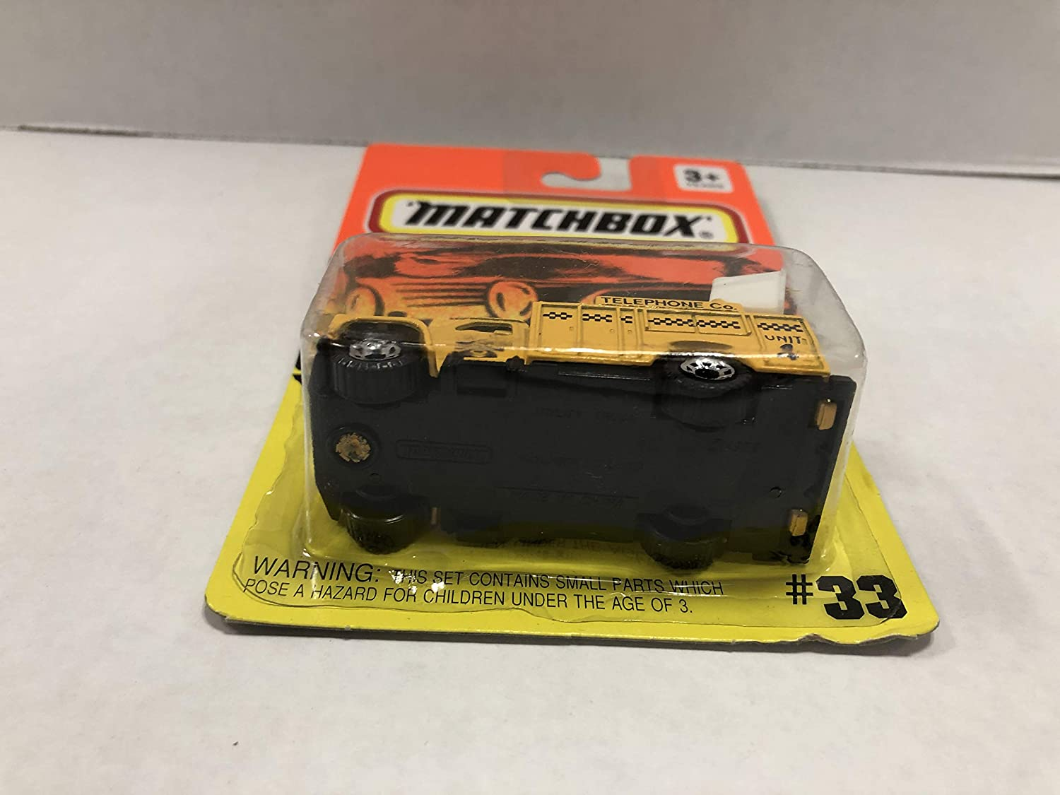 Telephone Co UTILITY TRUCK Moving Parts 1993 Matchbox 1//64 scale diecast #33