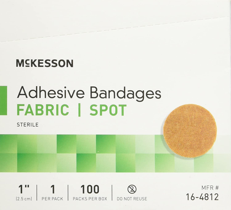 2 McKesson Medi Pak Performance Bandage 1round 2 Boxes Of 100 count