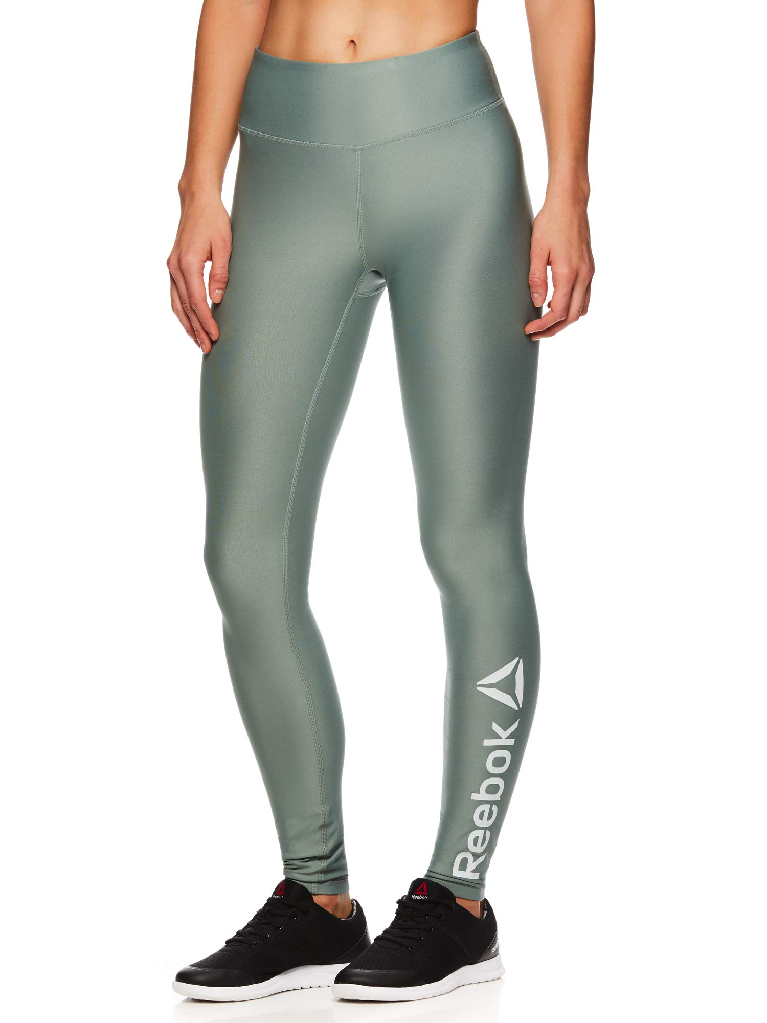 Reebok Women's Legging Full Length Performance Compression Pants - Chinois Green Green, Small by Reebok