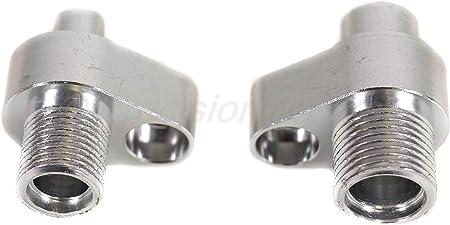 Precision Works AC Compressor Adapter Fitting Denso 10S17F 10S20F CNC
