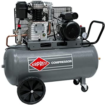 Airpress® HL425-100 - Compresor de aire comprimido (3 CV, 2 ...