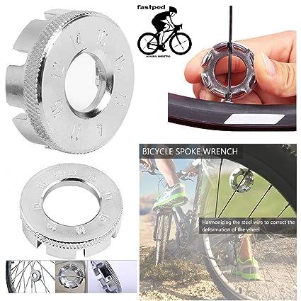 8-Way Spoke nipple Key Wheel Rim Wrench Spanner For Bicycle Bike Mini Tool