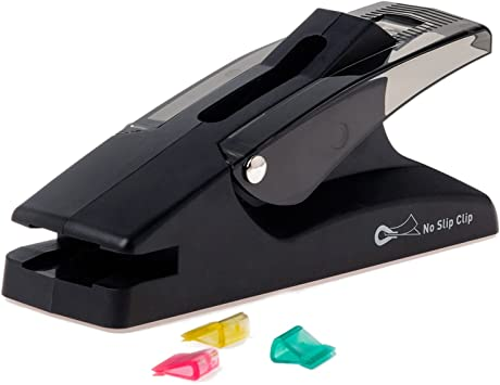 Office Home Staple Free Stapleless Stapler Paperclip Paper Binding Binder RB.z