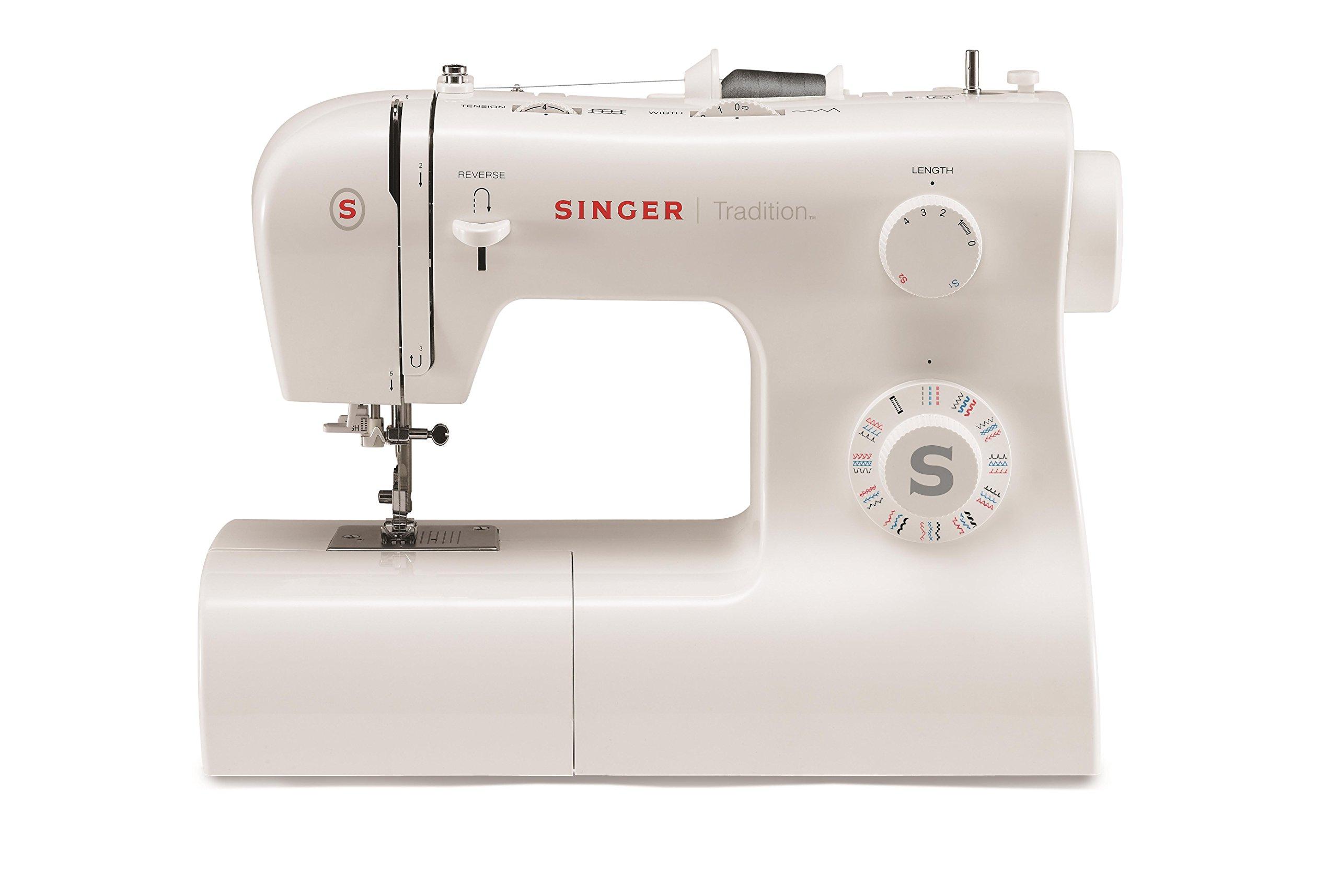 Singer 2282 Tradition - Máquina de coser mecánica, 32 puntadas, Blanco product image