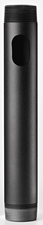 OmniMount NPT12 1.5-Inch (3.8cm) ID 12-Inch (30.5cm) Long Pipe, Standard Thread Both Ends