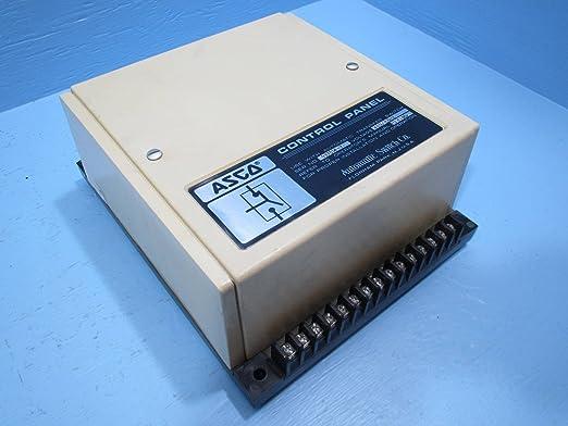 ASCO Control Panel 480V Bulletin 940 Group 9 Automatic