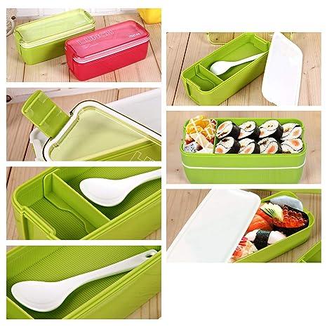 Amazon.com: BILIKILI - Fiambrera de microondas para picnic o ...