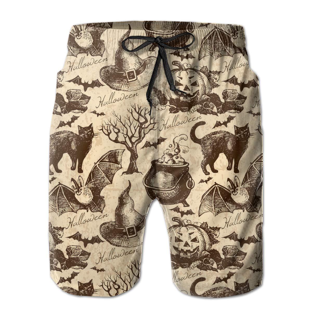 YongColer Men Big /& Tall Swim Trunks Half Pants Basic Beachwear Plus Size Quick Dry